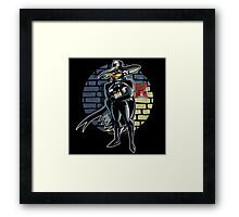 Dangerous Is His Vengeance! Framed Print
