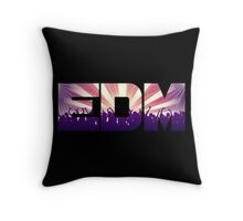 EDM! Throw Pillow