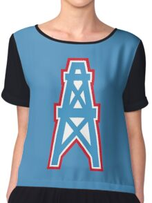 Houston Oilers Chiffon Top