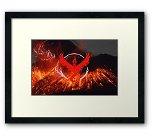 Pokemon Go - Team Valor Framed Print