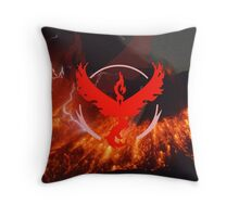 Pokemon Go - Team Valor Throw Pillow