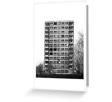 Wadeford Close , Ancoats, Manchester Greeting Card
