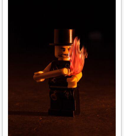 Lego Flow : Fire Play Sticker