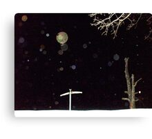 Orb Reporting Photograph #21 Canvas Print
