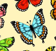Butterfly Design Sticker