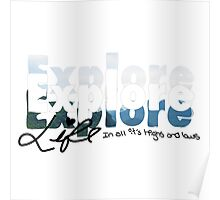 Explore Everything Poster