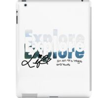 Explore Everything iPad Case/Skin