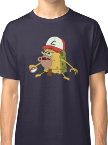 Spongegar Ash Hat Poke Trainer Funny Meme Classic T-Shirt