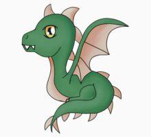 Cute Little Dragon Baby Baby Tee