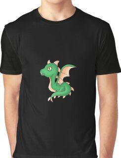 Cute Little Dragon Baby Graphic T-Shirt