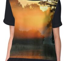 The Touch of Sunlight Chiffon Top