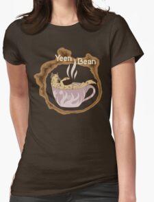 Yeen Bean Coffee Beans Womens Fitted T-Shirt