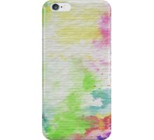Abstract Painting Watercolor Splatter Pattern iPhone Case/Skin