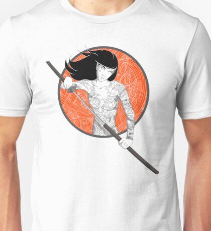 Katana Girl Unisex T-Shirt