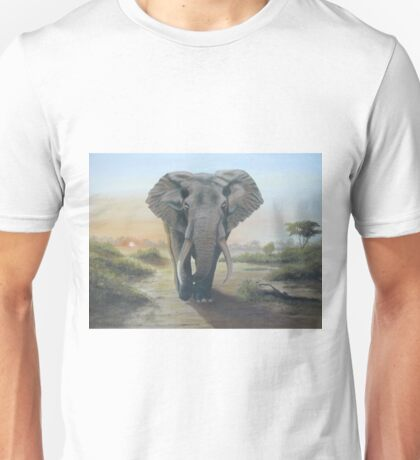Having a walk at daybreak Unisex T-Shirt
