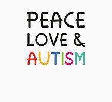 Peace Love & Autism Unisex T-Shirt