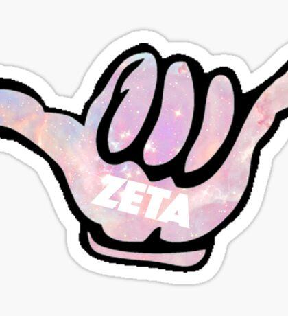zta> hang loose Sticker