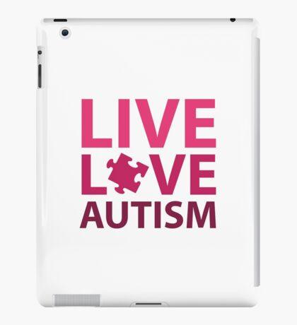 Live Love Autism iPad Case/Skin