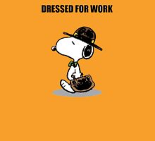 dressed for work snoopy Unisex T-Shirt
