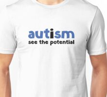 Autism See The Potential Unisex T-Shirt