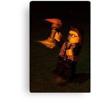 Lego Flow : Leviwand Canvas Print