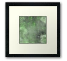 reptile/gas fusion Framed Print