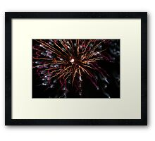fireworks 24/10/15 Framed Print