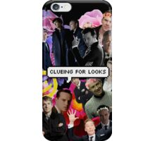 Clueing For Looks Collage iPhone Case/Skin