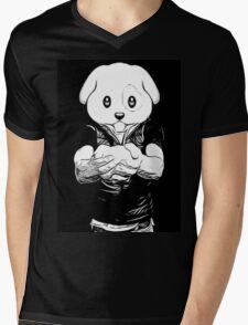 Dog Boy Mens V-Neck T-Shirt