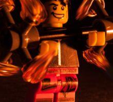 Lego Flow : Dragon Staff Sticker