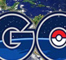 Let's Go Outside Pokemon Go (Centered)  Sticker