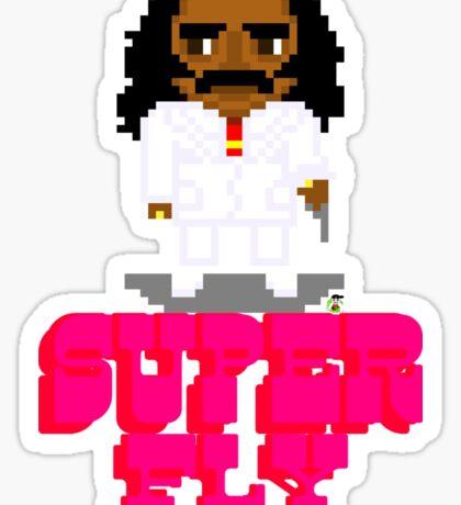 Super Fly -Pixels Sticker
