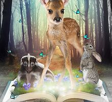 Believe In Magic • (Forest Friends: Bambi / Thumper / Flower) by soaringanchor