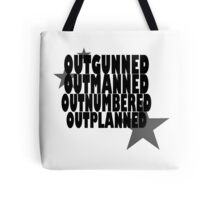 Hamilton: Outgunned Tote Bag