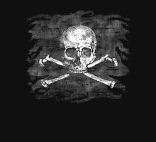 Old Skull Crossbones Pirate Flag Unisex T-Shirt
