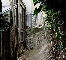 Paris. The original entrance to the Bourdelle museum. Montmartre about 100 years ago.  by jordyv