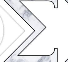 Phi Sigma Sigma Marble 3 Sticker