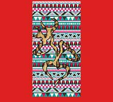 Deer Head Heart Aztec Unisex T-Shirt