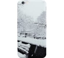 Snowy Bench iPhone Case/Skin