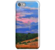 colorful countryside iPhone Case/Skin