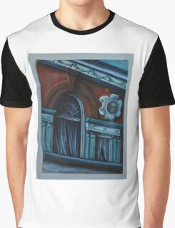 Victor Colorado~Historical Building~~Painting Graphic T-Shirt