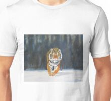 The Snow Tiger Unisex T-Shirt