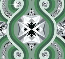 Diamonds canvas Sticker