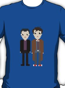 The 9th and 10th doctor T-Shirt