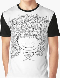 girl smiling Graphic T-Shirt