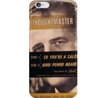 Thoughtmaster, Salesman iPhone Case/Skin