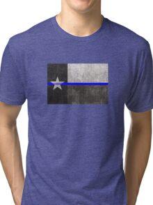 Texas Thin Blue Line Tri-blend T-Shirt