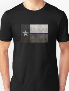 Texas Thin Blue Line Unisex T-Shirt