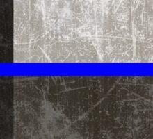 Texas Thin Blue Line Sticker
