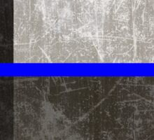Texas Thin Blue Line Sticker